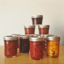 Preserves for the year.